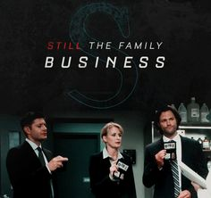 Supernatural. Still  the family business. Season 12