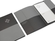 Visual identity and stationery for Cura designed by lg2boutique.