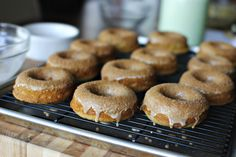 Apple cider doughnuts.  (www.simplyscratch.com)