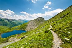 Landscape with Fagaras mountains, Transylvania Transylvania Romania, Character Modeling, Darkness, Golf Courses, Walls, River, Mountains, Landscape, Board