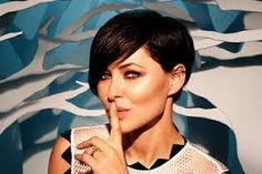 Saved from the axe: Big Brother renewed until 2018 by Channel 5 Long To Short Hair, Short Hair Cuts, Short Hair Styles, Long Pixie, Pixie Cuts, Pixie Hairstyles, Pixie Haircut, Emma Willis Hair, Hair Dos