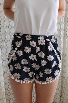 Pipi's Boutique - Daisy Pom Pom Shorts, $34.95 (http://www.pipisboutique.com/daisy-pom-pom-shorts/)
