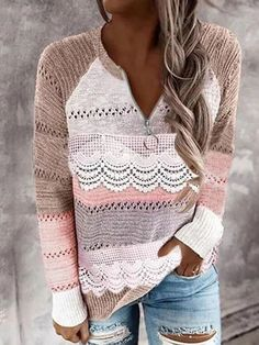 Casual Sweaters, Long Sweaters, Sweaters For Women, Sweaters Knitted, Fall Sweaters, Cheap Sweaters, Blue Sweaters, Hooded Sweater, Long Sleeve Sweater
