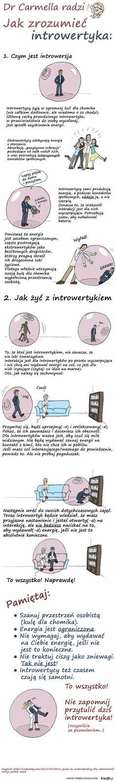 Jak zrozumieć introwertyka.