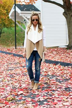 STYLE // Sherpa Vest - Style CuspStyle Cusp