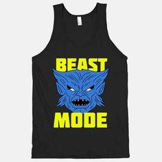 Like a beast