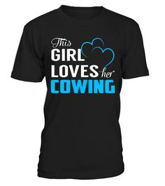 This Girl Loves her COWING #Cowing