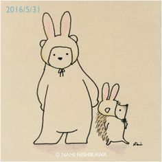 We're bunnies