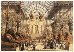 william mcgregor paxtonlondon - Google Search Crystal Palace, Palace London, Orange Art, Brown Art, Historical Art, Ancient Architecture, Ancient Civilizations, Worlds Of Fun, Places Around The World
