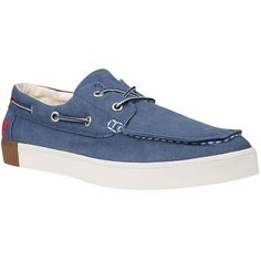 timberland men's canvas boat shoes