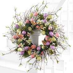 Easter Wreath - Easter Egg Wreath