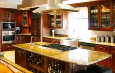 Great Ideas and Pictures Modern Design for Maple Espresso Kitchen Cabinets with Backsplash