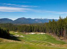 #10 Hole on Prospector Golf Course Via Suncadia Resort