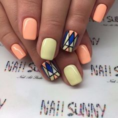 The cotton candy nail art is going strong and still holding on to the trend. If you are interested in cotton candy nails. Cute Nail Art Designs, Colorful Nail Designs, Cotton Candy Nails, Nagellack Trends, Pretty Nail Art, Classy Nails, Hot Nails, Dream Nails, Manicure And Pedicure