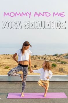 Fitness Help your little one grow both inside and out by practicing this 'mommy and me' yoga sequence. - Yoga is as crucial for you as it is for your child's growing mind and body. Give this mommy and me yoga sequence a try and help your little one grow. Yoga Meditation, Yoga Restaurativa, Vinyasa Yoga, Yoga Nidra, Yoga Mom, Pilates Yoga, Pilates Reformer, Ashtanga Yoga, Iyengar Yoga