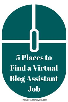 Once bloggers start to get a little busier and a little more established, they need help, and they hire virtual assistants to help them.