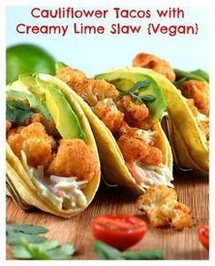 Cauliflower Tacos wi