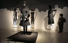 Exhibitionist: Designer Hussein Chalayan is no stranger to the idea of fashion as art exhibit and recently showed at Les Arts Decoratifs in Paris