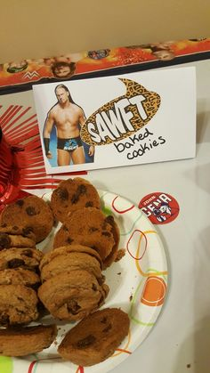 WWE themed birthday party