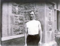 Thomas J. Hicks of Cambridge, Massachusetts YMCA winner of the 1904 Olympic Marathon Race.
