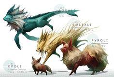 Un artiste a réalisé une série d'illustrations de Pokémon un poil plus réalistes que d'habitude. Amélie hésite entre terreur et admiration.