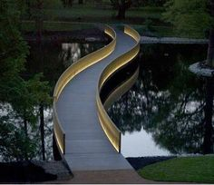 nice curves instead of the usual strait and boring.
