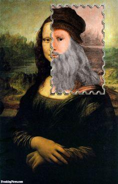 Mona Lisa is Really Leonardo da Vinci