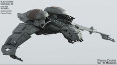 Klingon Bird of Prey or BOP rejected design for Star Trek Into Darkness