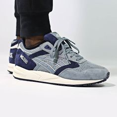 Asics Gel Saga Scratch And Sniff Pack Vanilla: goblin blue/navy