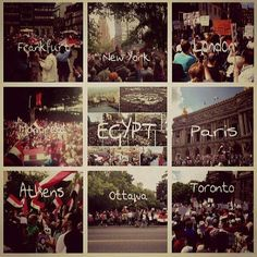 All Egyptian over the world joining their home land !