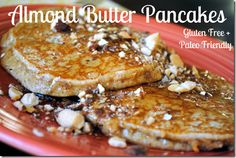 almond butter pancakes gluten free paleo