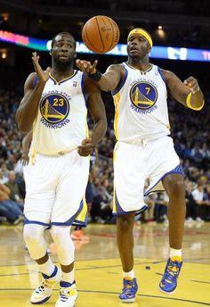Golden State Warriors Draymond Green, Jermaine O'Neal