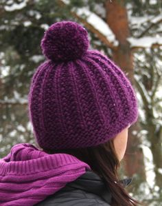 Knitted Hats, Knitting Patterns, Diy And Crafts, Knit Crochet, Winter Hats, Colours, Barn, How To Make, Fashion