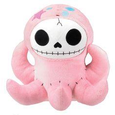 Octopee Plush pink, crafts, plush