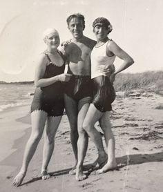 Bad på Gotland på 1920-talet