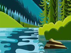 Nature Scene 1/6 by David Siudmak