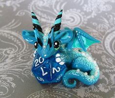 Le dragon bleu océan