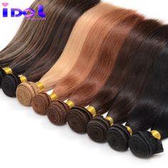 저렴한 8A 처리되지 않은 야키 인간의 머리 1 번들 브라질 빛 야키 직선 인간의 머리 색깔 브라질 처녀 머리 직조