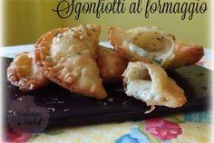 Sgonfiotti al formaggio (empanadillas de queso italianas)