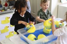 Ducks around the preschool classroom – Teach Preschool Teach Preschool, Preschool Classroom, Read Across America Day, Pond Life, Step Kids, Always Learning, Sensory Play, Life Cycles, Rubber Duck