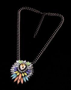 Betsey Johnson Color restoring ancient ways is short pendant necklace ! #BetseyJohnson #Pendant
