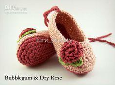 Sapatos Baratos Criança - Bonito 15 Off Crochet Sandálias Crochet Baby Shoes on-line, com EUA $ 31.99/Piece | DHgate