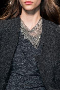 Biżuteria: trendy jesień-zima 2014/2015, Isabel Marant, fot. Imaxtree