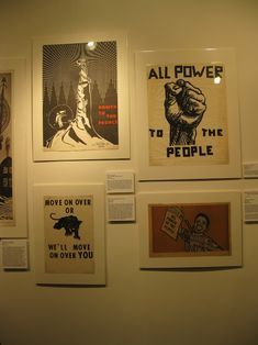 """All Power to the People"" Exhibition - collection of graphics from the Black Panther Party during the and Political Posters, Political Art, Emory Douglas, Freedom Of Information Act, Protest Art, Black Panther Party, Powerful Images, Modern Frames, Power To The People"