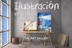 Isabel Osma expone en The Art Gallery #ilustracion #acuarela #thaartgallery Furniture, Home Decor, Artists, Decoration Home, Room Decor, Home Furnishings, Arredamento, Interior Decorating