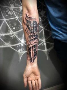 Best Tattoo Sleeve Skull Men Ink Ideas - the Best Tattoo Sleeve Skull Men Ink Ideas Finest Tattoo Sleeve Cranium Males Ink Concepts – The Finest Tattoo Sleeve Cranium M… Forarm Tattoos, Cool Forearm Tattoos, Forearm Tattoo Men, Leg Tattoos, Body Art Tattoos, Trendy Tattoos, Tattoos For Women, Tattoo Manche, Biker Tattoos
