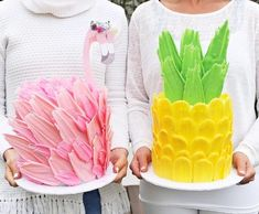 Pineapple or Flamingo, that's the question. How about both for your next kids birthday party? There can never be too much cake, right?…