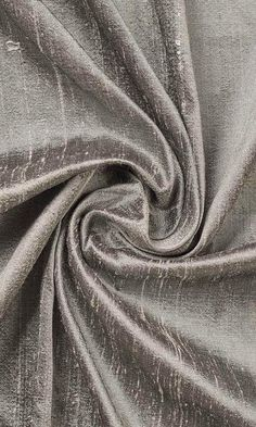 'DARJEELING' PURE SILK DRAPES (TAUPE GREY) $87.00  https://www.spiffyspools.com/collections/silk-curtains/products/darjeeling-curtains?variant=2377940172824