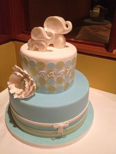 My baby shower cake. SO beautiful and it was delicious!