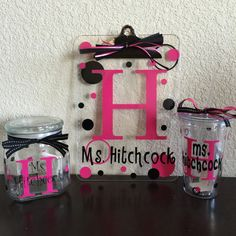 Personalized Teacher's Bundle Gift Set by TheLittleBBoutique